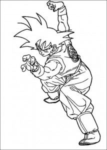 Dibujo para colorear Dragon Ball Z (33)