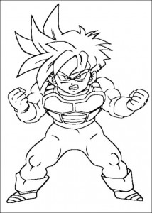 målarbok Dragon Ball Z (35)