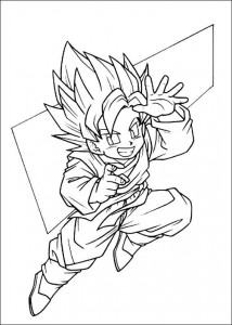 Dibujo para colorear Dragon Ball Z (36)
