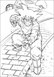 målarbok Dragon Ball Z (38)