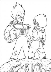 målarbok Dragon Ball Z (40)
