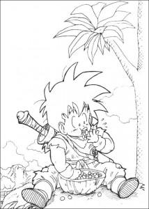 målarbok Dragon Ball Z (41)