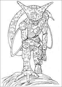 målarbok Dragon Ball Z (44)