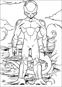 Dibujo para colorear Dragon Ball Z (45)
