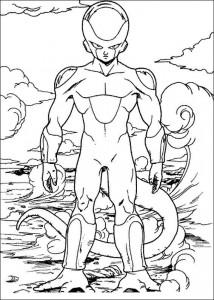 målarbok Dragon Ball Z (45)