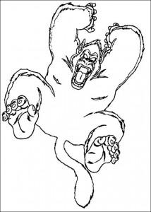 målarbok Dragon Ball Z (47)