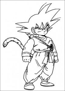 målarbok Dragon Ball Z (48)