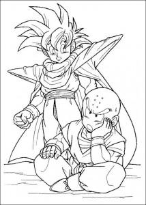 målarbok Dragon Ball Z (49)