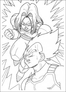 Dibujo para colorear Dragon Ball Z (51)