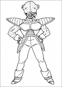 målarbok Dragon Ball Z (53)