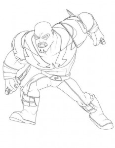 drax coloring page