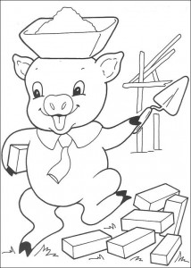 coloring page Three Little Pigs (10)