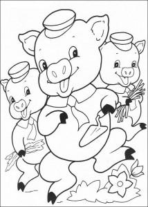 målarbok Tre små grisar (14)