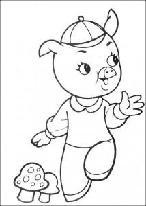 målarbok Tre små grisar (7)