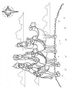 målarbok Tre kungar (1)