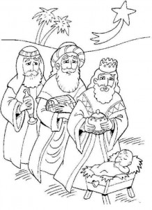 coloring page Three kings (15)