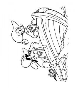 målarbok Tre musketer (4)