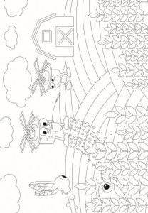 coloring page Droner (1)