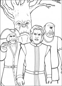 coloring page Dream prince, Captain Hook, Eenoog