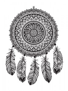 coloring page Dream catchers (10)