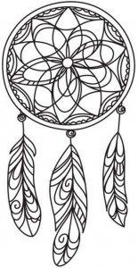 coloring page Dream catchers (13)