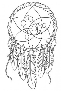 coloring page Dream catchers (15)
