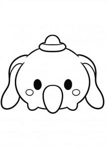 kleurplaat dumbo