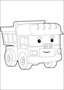 dumpu coloring page