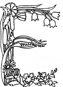 pagina da colorare E (1)