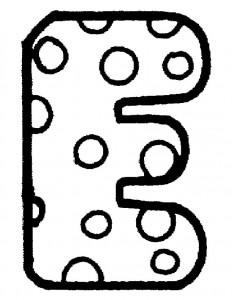 kleurplaat E