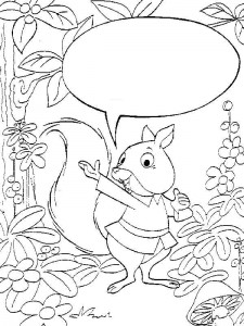 coloring page Squirrel (3)