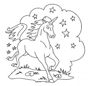 målarbok Unicorn (13)