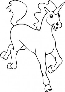 coloring page Unicorn (14)