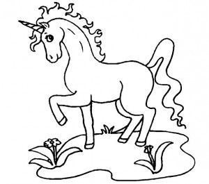 coloring page Unicorn (19)
