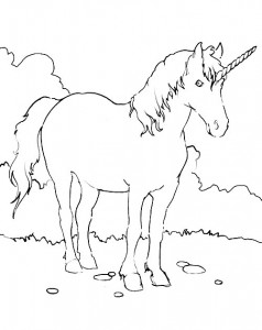 coloring page Unicorn (20)