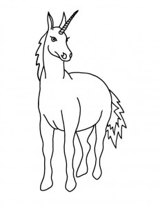 coloring page Unicorn (21)