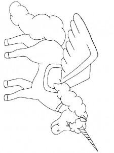 kleurplaat Eenhoorn (22)