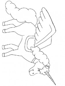 målarbok Unicorn (22)