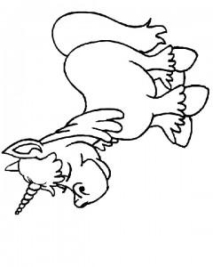kleurplaat Eenhoorn (23)