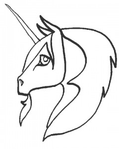 coloring page Unicorn (24)