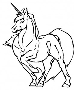 coloring page Unicorn (25)
