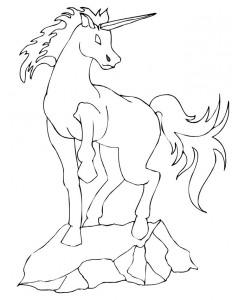 målarbok Unicorn (27)