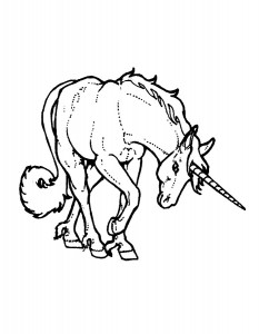 coloring page Unicorn (31)