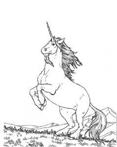 coloring page Unicorn (32)