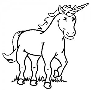 coloring page Unicorn (34)