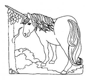 kleurplaat Eenhoorn (35)