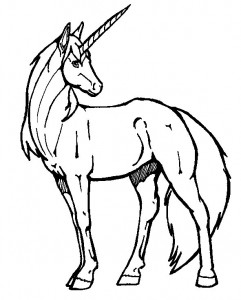 coloring page Unicorn (36)