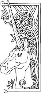 coloring page Unicorn (5)