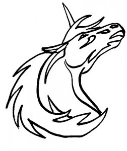 coloring page Unicorn (6)