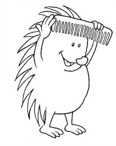 målarbok Hedgehogs (10)